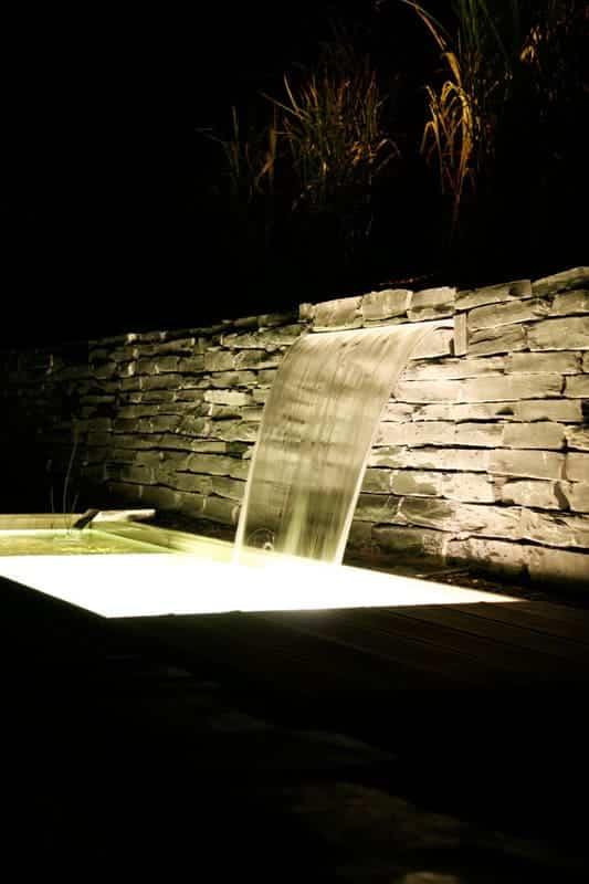 Aménagement extérieur Luxembourg bassin point d'eau 10