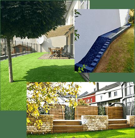 Aménagement jardin extérieur Luxembourg