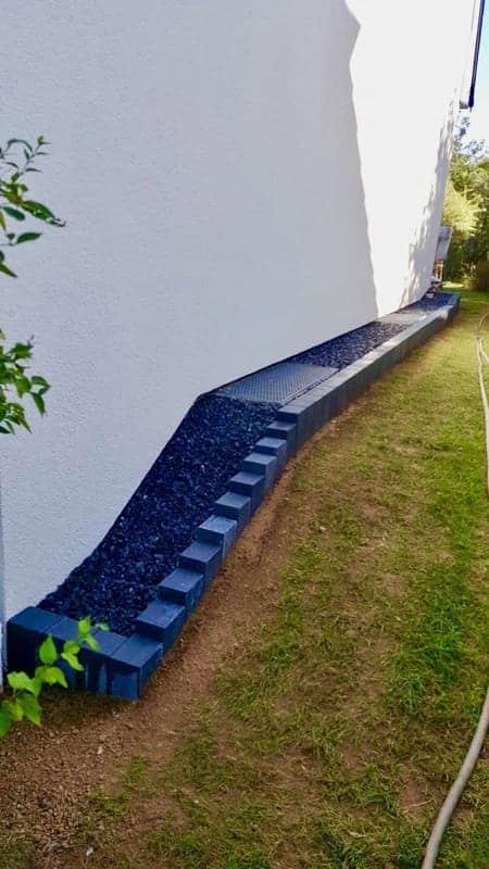 Architecte paysagistes Luxembourg maçonnerie 1