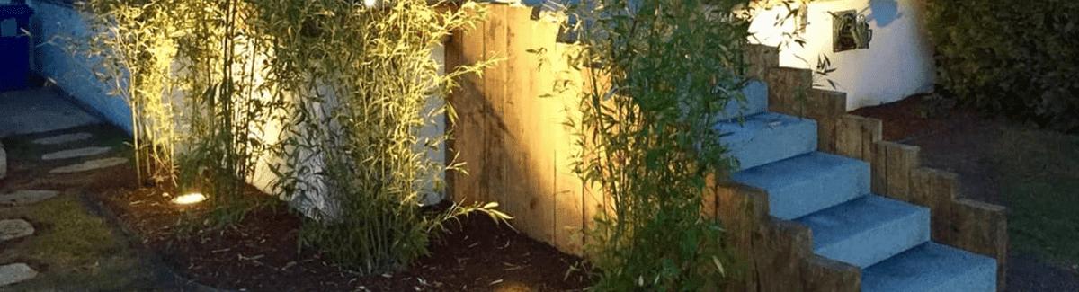 Entretien de jardin au Luxembourg illumination jardin