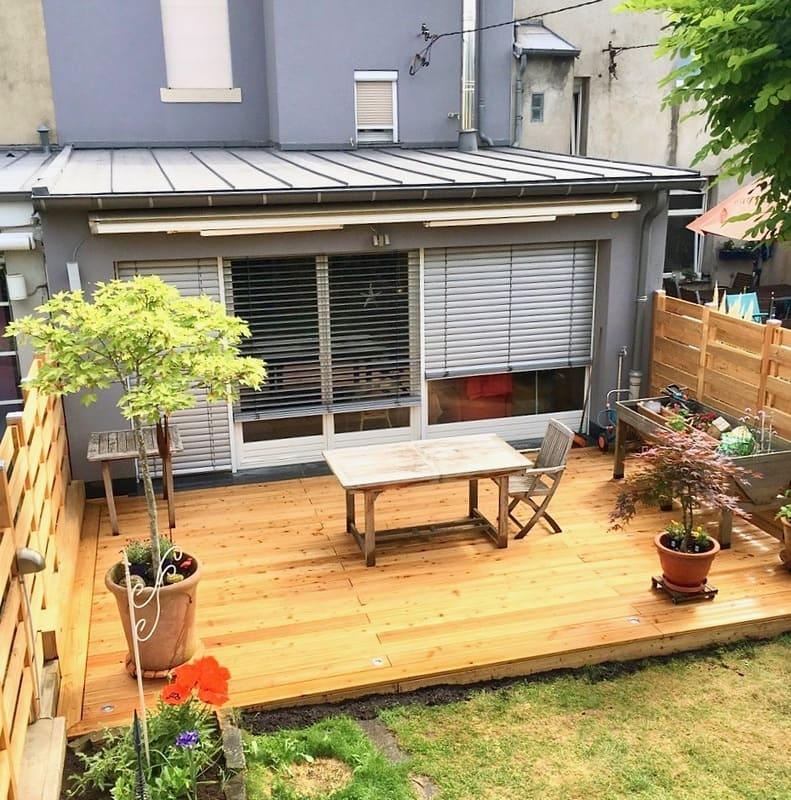 Jardinier au Luxembourg construction abri de jardin 48