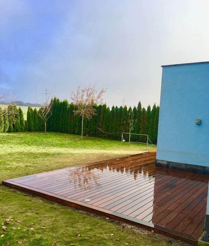 Jardinier au Luxembourg construction abri de jardin 52