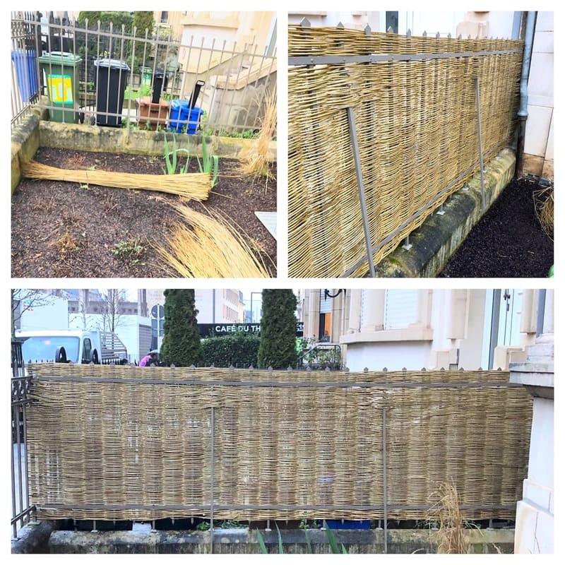 Jardinier au Luxembourg construction abri de jardin 55