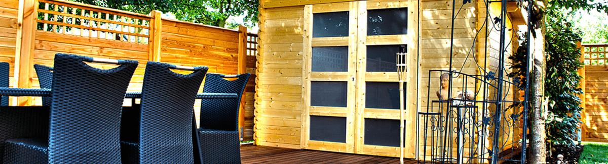 Jardinier au Luxembourg construction bois