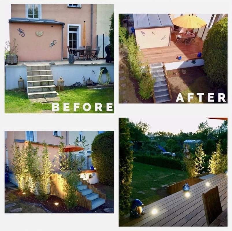 Jardinier paysagiste Luxembourg illumination jardin 24