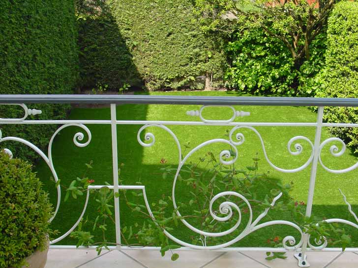 Gazon artificiel jardin au Luxembourg