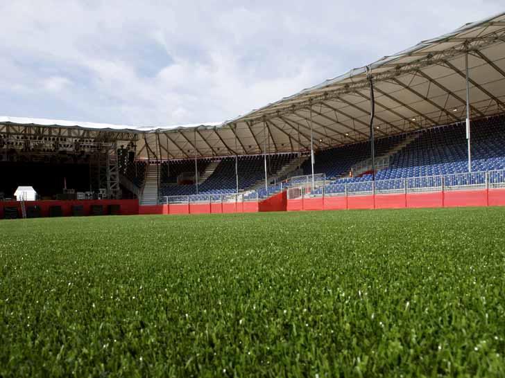 Gazon synthétique terrain sport Luxembourg