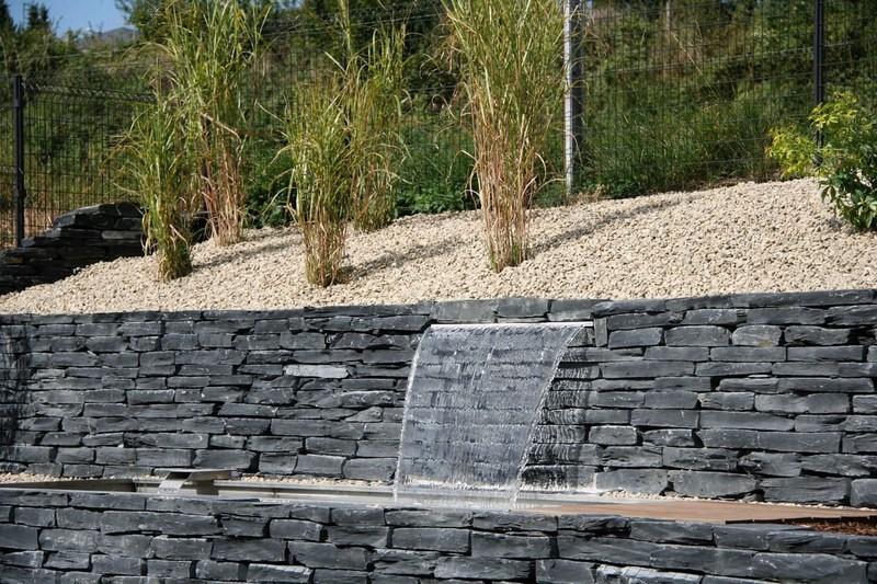 Aménagement extérieur Luxembourg bassin point d'eau 12