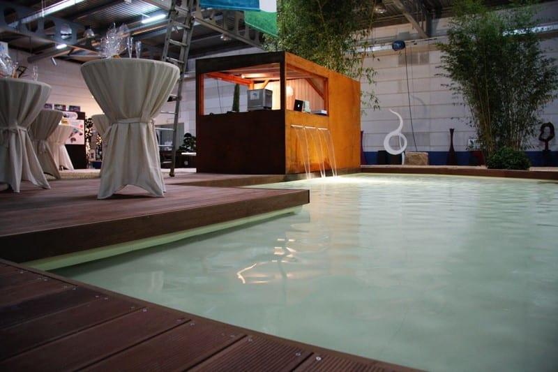 Aménagement extérieur Luxembourg bassin point d'eau 5