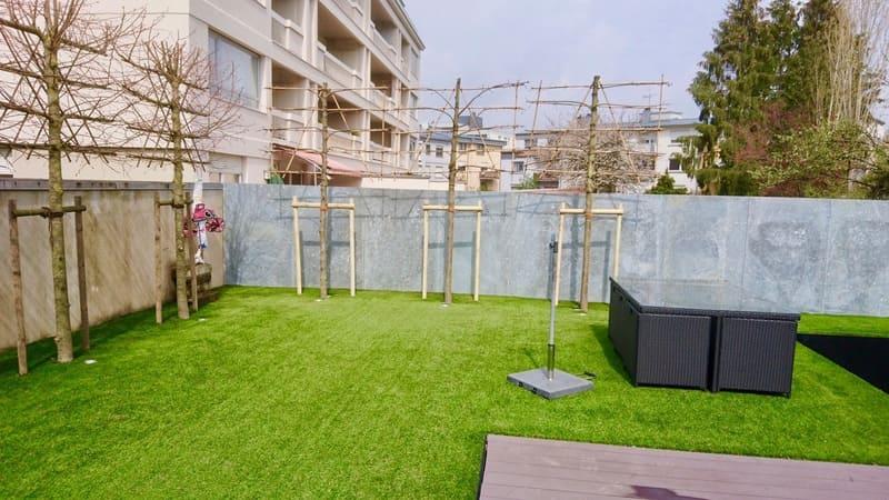 Engazonnement jardin et aménagement Luxembourg