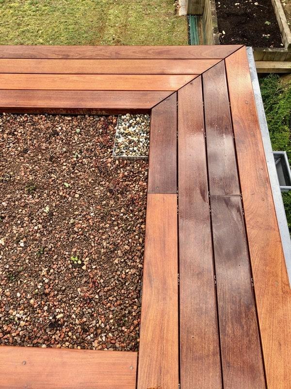 Aménagement extérieur Luxembourg toiture végétale 1