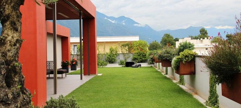 Aménagement extérieur Luxembourg toiture végétale 8