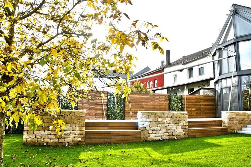 Architecte paysagiste Luxembourg maçonnerie 2