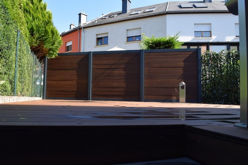 Jardinier au Luxembourg construction abri de jardin en bois 15