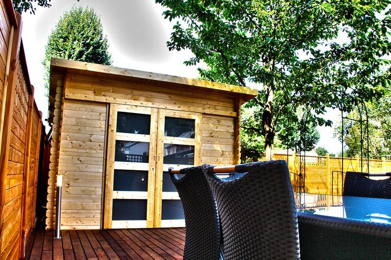 Jardinier au Luxembourg construction abri de jardin en bois 16