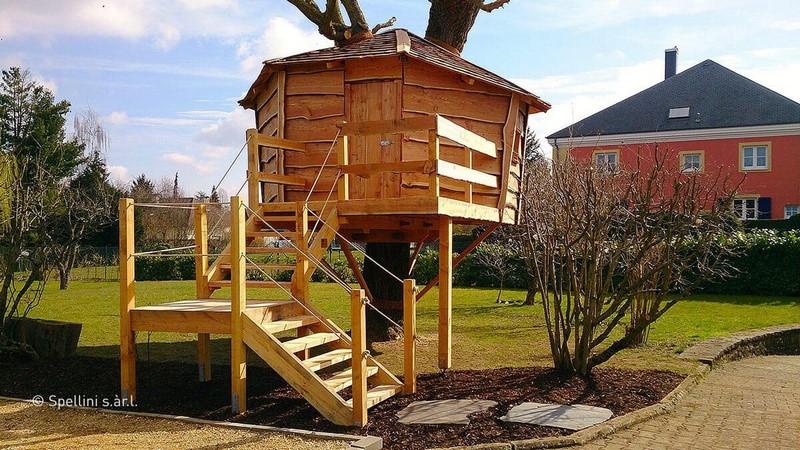 Jardinier au Luxembourg construction abri de jardin en bois 2