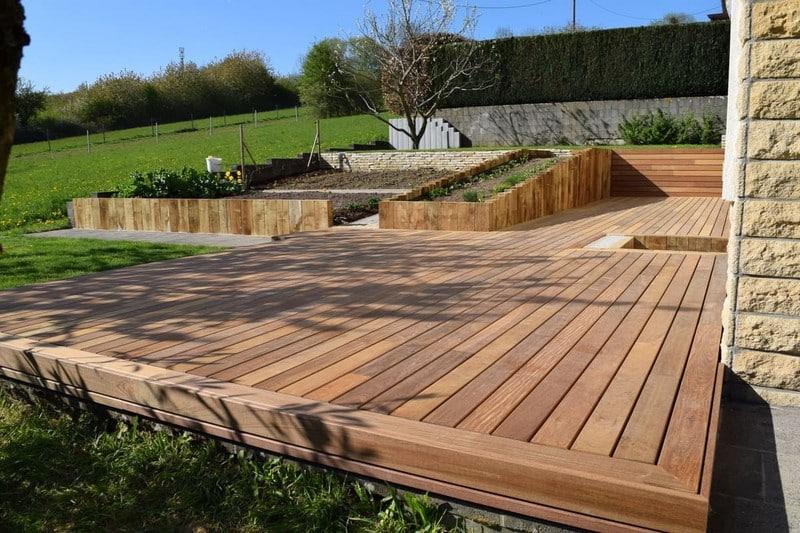 Jardinier au Luxembourg construction abri de jardin en bois 24