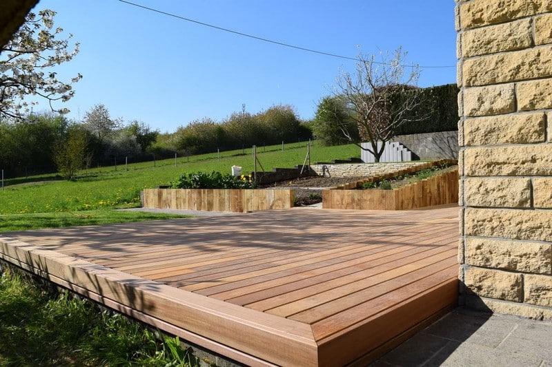 Jardinier au Luxembourg construction abri de jardin en bois 26