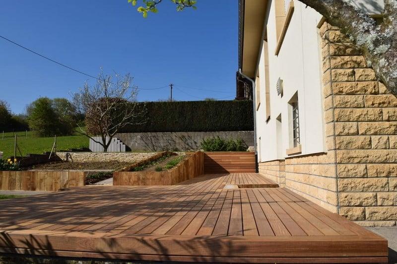 Jardinier au Luxembourg construction abri de jardin en bois 28