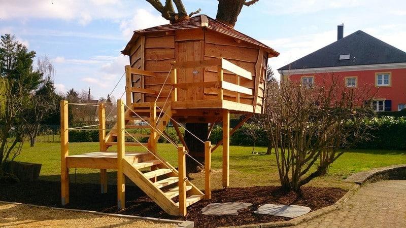 Jardinier au Luxembourg construction abri de jardin en bois 34