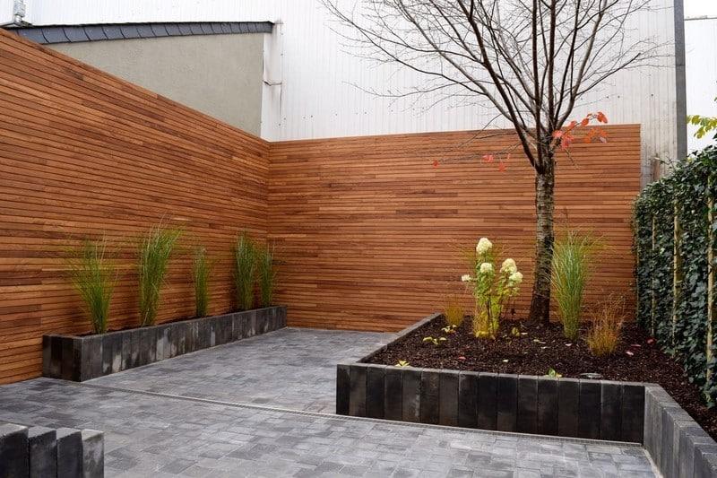 Jardinier au Luxembourg construction abri de jardin en bois 36