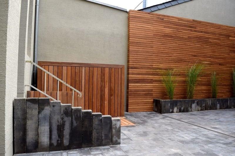 Jardinier au Luxembourg construction abri de jardin en bois 39