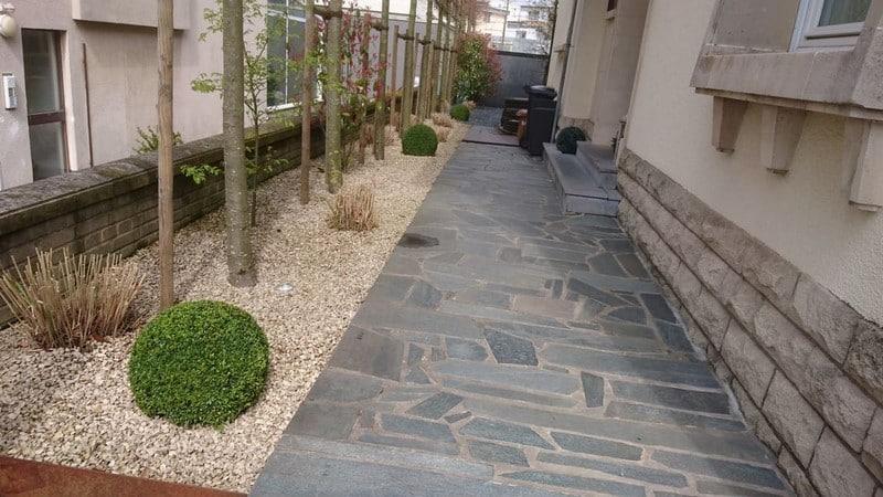 Jardinier paysagiste Luxembourg illumination jardin 7