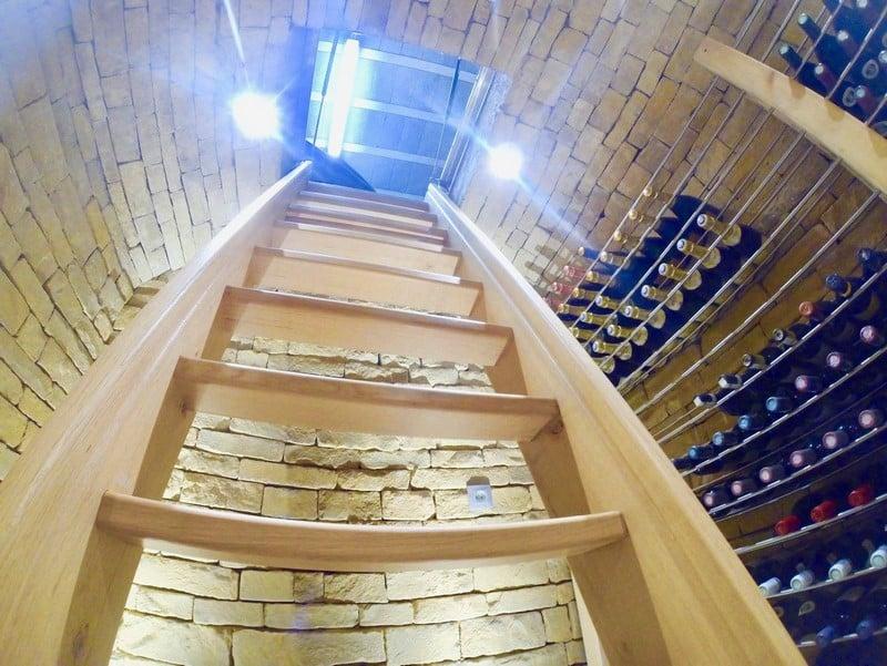 Cave à vin Luxembourg maçonnerie